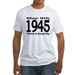 1945 - Victory Europe Day Fitted T-Shirt