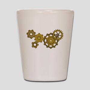 Woven Clockwork Shot Glass