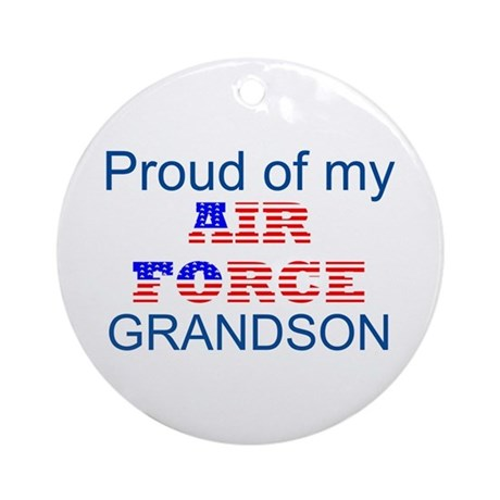 GrandSon Ornament (Round)