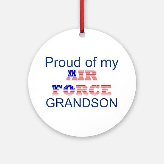GrandSon Ornament (Round)