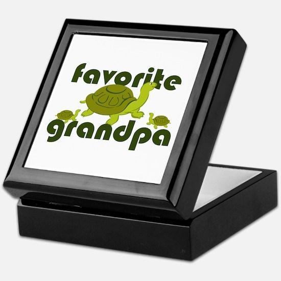 Favorite Grandpa Keepsake Box