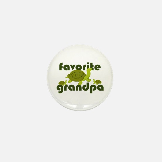 Favorite Grandpa Mini Button