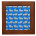 Sand Tiger Shark Framed Tile