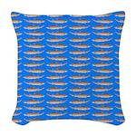 Sand Tiger Shark Woven Throw Pillow