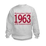 1963 - JFK Assassination Kids Sweatshirt