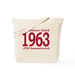 1963 - JFK Assassination Tote Bag