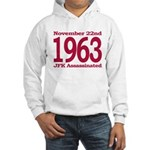 1963 - JFK Assassination Hooded Sweatshirt