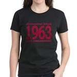1963 - JFK Assassination Women's Dark T-Shirt
