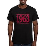 1963 - JFK Assassination Men's Fitted T-Shirt (dar