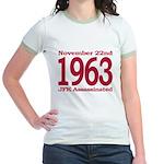 1963 - JFK Assassination Jr. Ringer T-Shirt