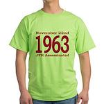 1963 - JFK Assassination Green T-Shirt