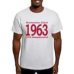 1963 - JFK Assassination Light T-Shirt
