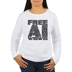 Free Ai Weiwei Women's Long Sleeve T-Shirt