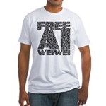 Free Ai Weiwei Fitted T-Shirt