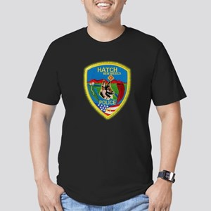 Hatch Police Canine Men's Fitted T-Shirt (dark)