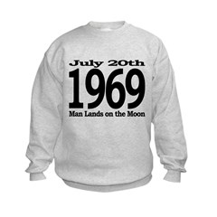 1969 - Man Lands on the Moon Sweatshirt
