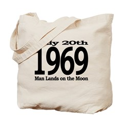 1969 - Man Lands on the Moon Tote Bag