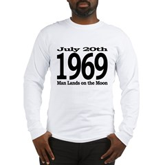 1969 - Man Lands on the Moon Long Sleeve T-Shirt