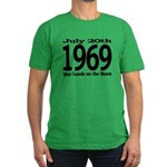 1969 - Man Lands on the Moon Men's Fitted T-Shirt