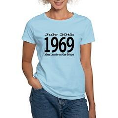 1969 - Man Lands on the Moon Women's Light T-Shirt