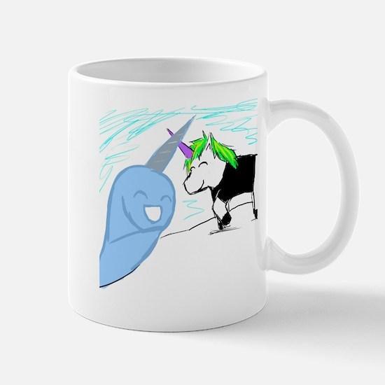 Dani the Unicorn and Neil the Narwhal Mug