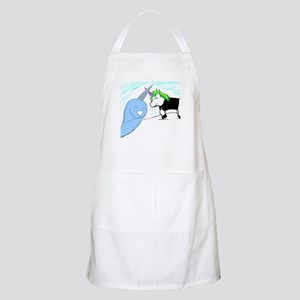 Dani the Unicorn and Neil the Narwhal Apron