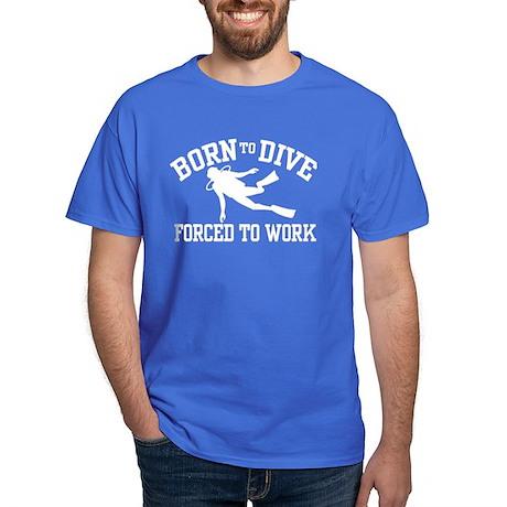 Funny Scuba Diver Dark T-Shirt