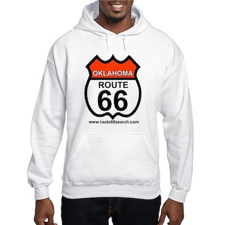 Oklahoma Route 66 Hooded Sweatshirt