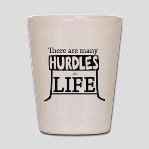 Hurdles Shot Glass