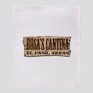 Rosa's Cantina Throw Blanket