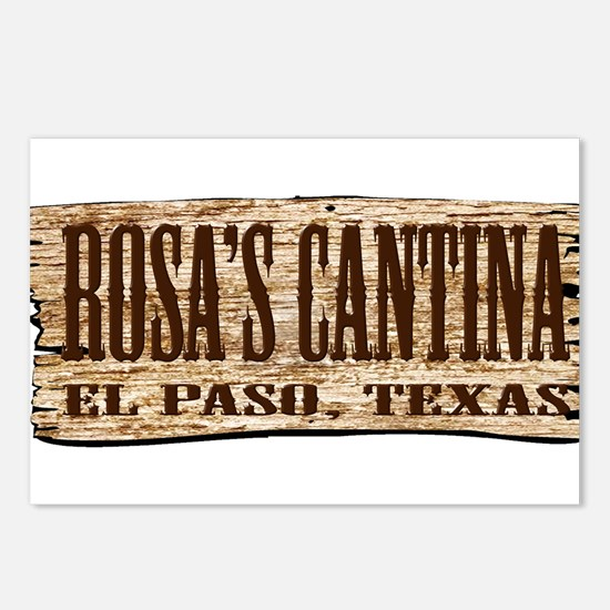 Rosa's Cantina Postcards (Package of 8)