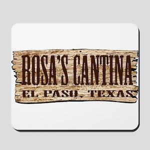 Rosa's Cantina Mousepad