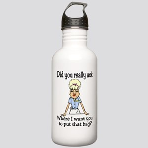 Since You Asked... Stainless Water Bottle 1.0L