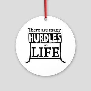 Hurdles Ornament (Round)