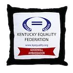 Ambassador of Goodwill (restr Throw Pillow