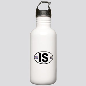 Iceland Euro Oval Stainless Water Bottle 1.0L