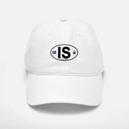Iceland Euro Oval Baseball Baseball Cap