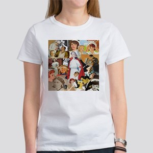 V intage Nurse CollageWomen's T-Shirt