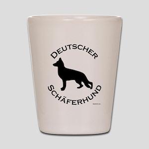 Deutscher Schaferhund Shot Glass