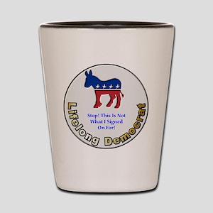 Democrat Regret Shot Glass