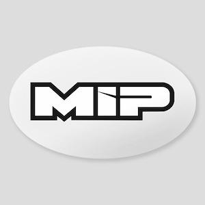 MIP Oval Sticker