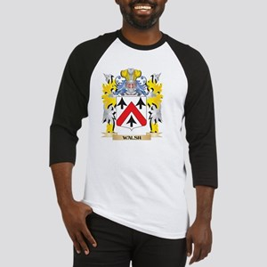 Walsh Family Crest - Coat of Arms Baseball Jersey