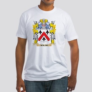 Walsh Family Crest - Coat of Arms T-Shirt