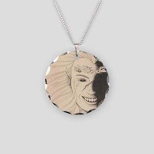 Morrigu Necklace Circle Charm