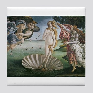 The Birth of Venus Tile Coaster