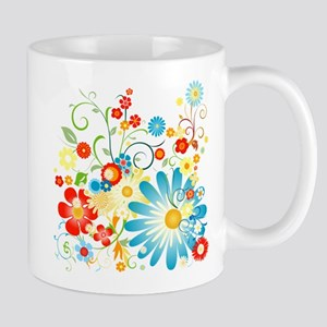 Floral explosion of color Mug
