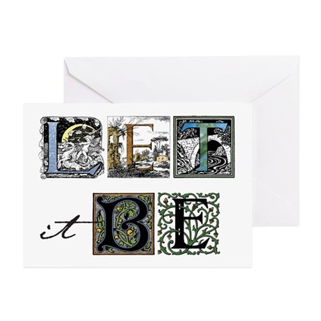 Let it Be Greeting Cards (Pk of 10)