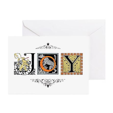 """Joy"" Greeting Cards (Pk of 20)"