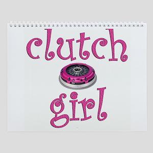 Clutch Girl Wall Calendar
