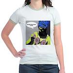 LAUGH OUT LOUD Jr. Ringer T-Shirt